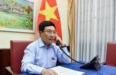 政府副总理兼外交部长范平明与瑞士外长卡西斯举行电话会谈