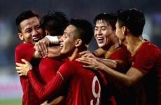 越南在2022年世界杯亚洲区预选赛中占据优势