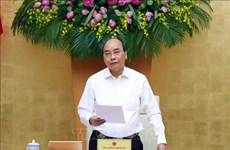 """越南政府5月例行会议决议:努力实现防疫情促发展的""""双重目标"""""""