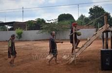 嘉莱族同胞富有特色的求雨仪式