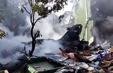 印尼一架战斗机坠毁 飞行员成功弹射逃生