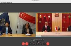 新加坡是全球首个与国际海洋法法庭签署示范协定的国家