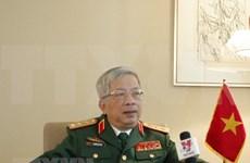 阮志咏上将:确保越南维和力量安全是当前疫情情况下的重点任务