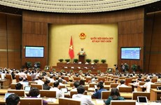 越南第十四届国会第九次会议:讨论两部法案