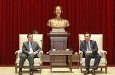 河内全力巩固越南与老挝特殊友好关系
