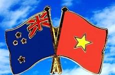越南与新西兰建交45周年的贺电