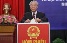越共中央政治局签发关于第十五届国会选举的指示