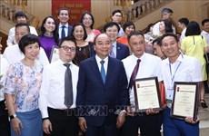 2019年国家新闻奖颁奖仪式在河内隆重举行 越通社获得六个奖项