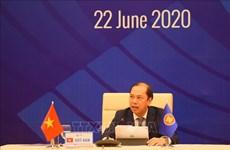 ASEAN 2020: 集中讨论东盟峰会的筹备工作