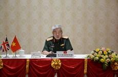 促进越南与英国之间的防务合作