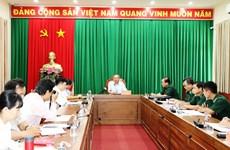 越南国会对外委员会代表团赴木牌国际口岸调研新冠肺炎疫情防控工作