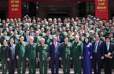 越南政府总理阮春福出席第十届全军决胜竞赛大会