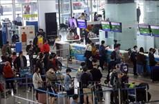 内排国际机场客运服务已恢复正常