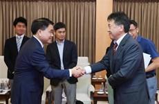河内与日本国际协力机构加强合作 保障各项目施工进度