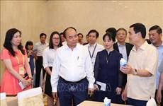 2020东盟轮值主席国年:政府总理阮春福检查第36届东盟峰会及系列会议准备工作