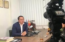 越南政府向旅塞布鲁斯越南人赠送防疫口罩
