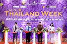2020年泰国产品周在海防开幕