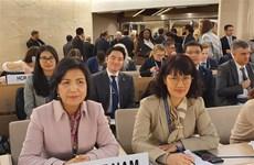 联合国人权理事会第43次会议通过许多重要文件