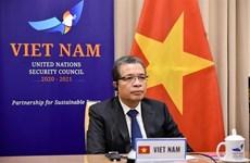 越南一贯支持巴勒斯坦人民的正义斗争和无可侵犯的正当权益