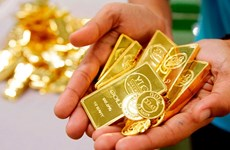 越南国内黄金价格保持在4900万越盾以上