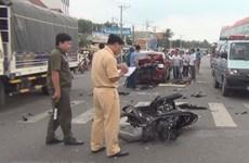 """2020年上半年越南全国交通事故实现""""三下降"""""""