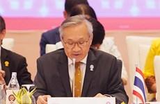 2020东盟轮值主席国年:泰国公布东盟外长非正式会议等系列会议的结果