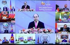 2020东盟轮值主席国年:东盟成员国领导人强调促进内部合作、推动区域贸易发展的重要性
