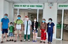 越南新增5例康复病例  累计治愈335例