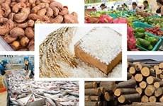 2020年上半年越南农林渔业出口额达188亿美元