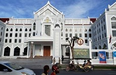 柬埔寨人民党新总部大楼正式落成