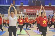 2020年全国瑜伽节吸引近2000名运动员参加