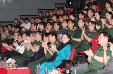 越南国会主席阮氏金银出席防疫一线人员表彰大会