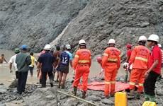 缅甸翡翠矿区山体滑坡死亡人数升至113人