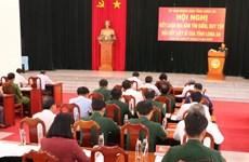 越南隆安省归集3.55万名烈士的遗骸
