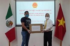 墨西哥格雷罗州州长感谢越南对该州提供的新冠肺炎疫情防疫物资