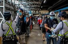 菲律宾新增新冠肺炎病例创单日新高 印尼新增1301例