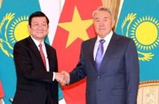越南与哈萨克斯坦关系不断走向务实