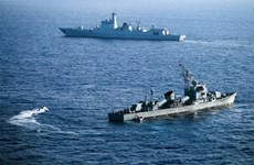 美国国防部反对中国在东海演习