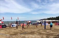 2020年越南全国沙滩排球锦标赛在清化省开幕