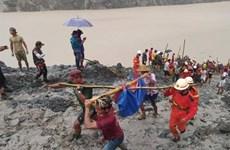 缅甸北部矿区发生山体滑坡 已造成160多人死亡