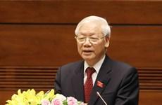 越南领导人致电祝贺美国第244个国庆日