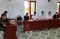 非法入境越南的5名中国人被捕