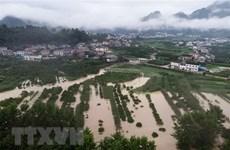 阮春福就中国遭受严重洪涝灾害致电中国国务院总理李克强表示慰问