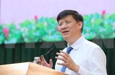 阮青龙担任卫生部党组书记、代理部长职务