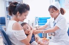 胡志明市建议主动进行白喉疫苗接种