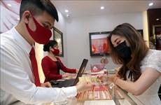 越南国内市场黄金价格接近5100万越盾一两