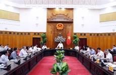 政府总理阮春福与槟椥省领导举行工作会谈