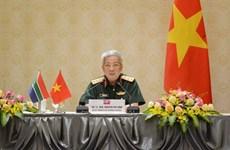 推动越南与南非的防务合作