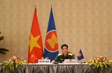 越南出席东盟陆军司令视频会议