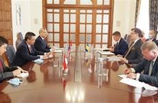 东盟与乌克兰加强多个领域的合作